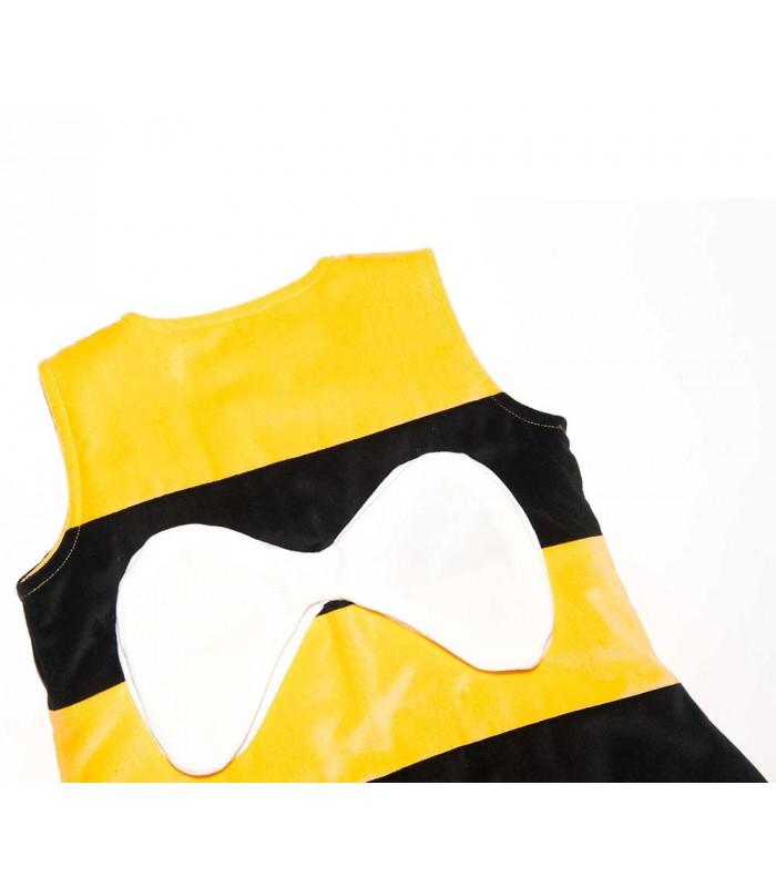 gigoteuse pieds paisse the penguin bag company abeille 2 4 ans maman natur 39 elle. Black Bedroom Furniture Sets. Home Design Ideas