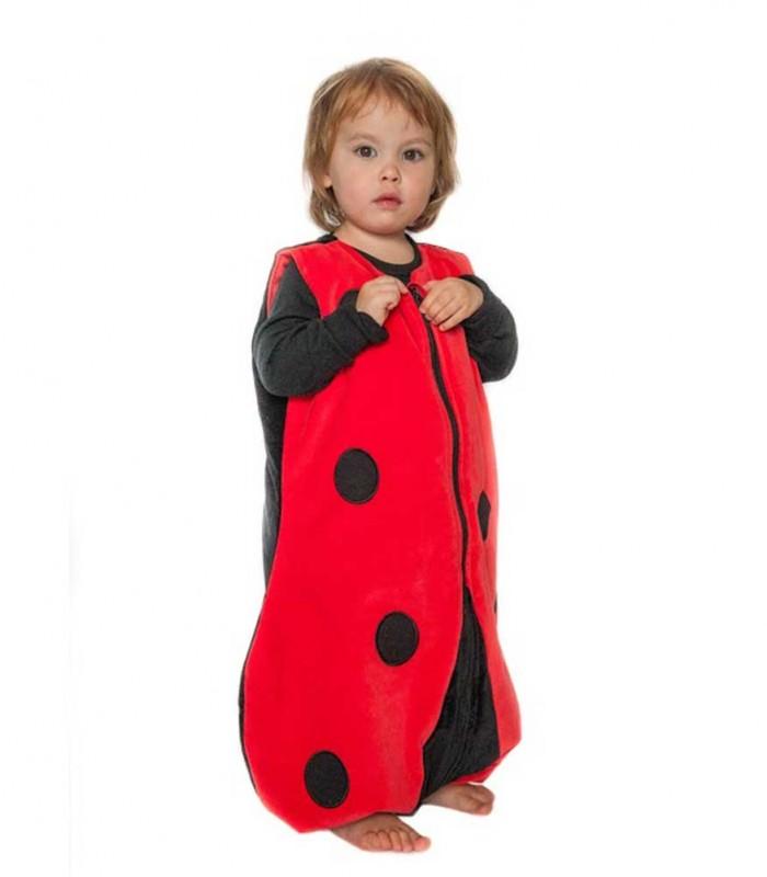 gigoteuse pieds paisse the penguin bag company coccinelle 4 6 ans maman natur 39 elle. Black Bedroom Furniture Sets. Home Design Ideas