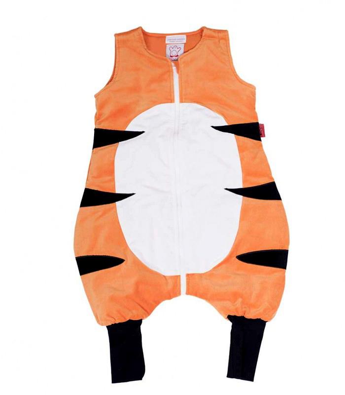gigoteuse pieds paisse the penguin bag company tigre 2 4 ans maman natur 39 elle. Black Bedroom Furniture Sets. Home Design Ideas