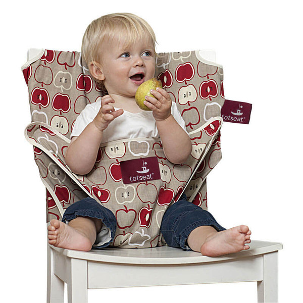 Chaise nomade b b totseat apple maman naturelle for Baby to love chaise nomade