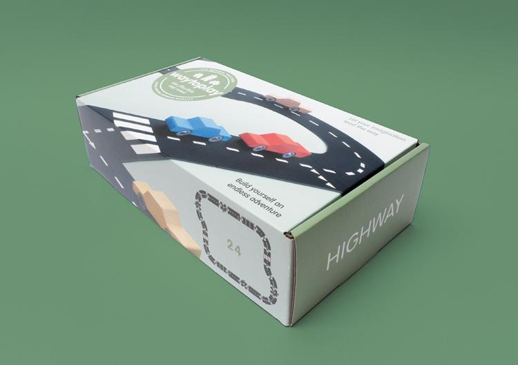 Natur'elle Autoroute Souple Play Way Maman Circuit To E2IDH9