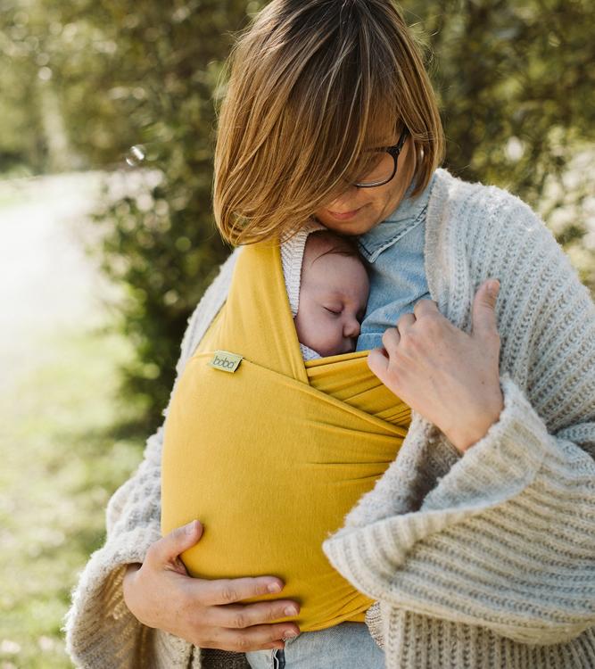 """6e3b761fc540 55.00€. L écharpe de portage extensible Véritable """"Cocon"""" pour les bébés !"""